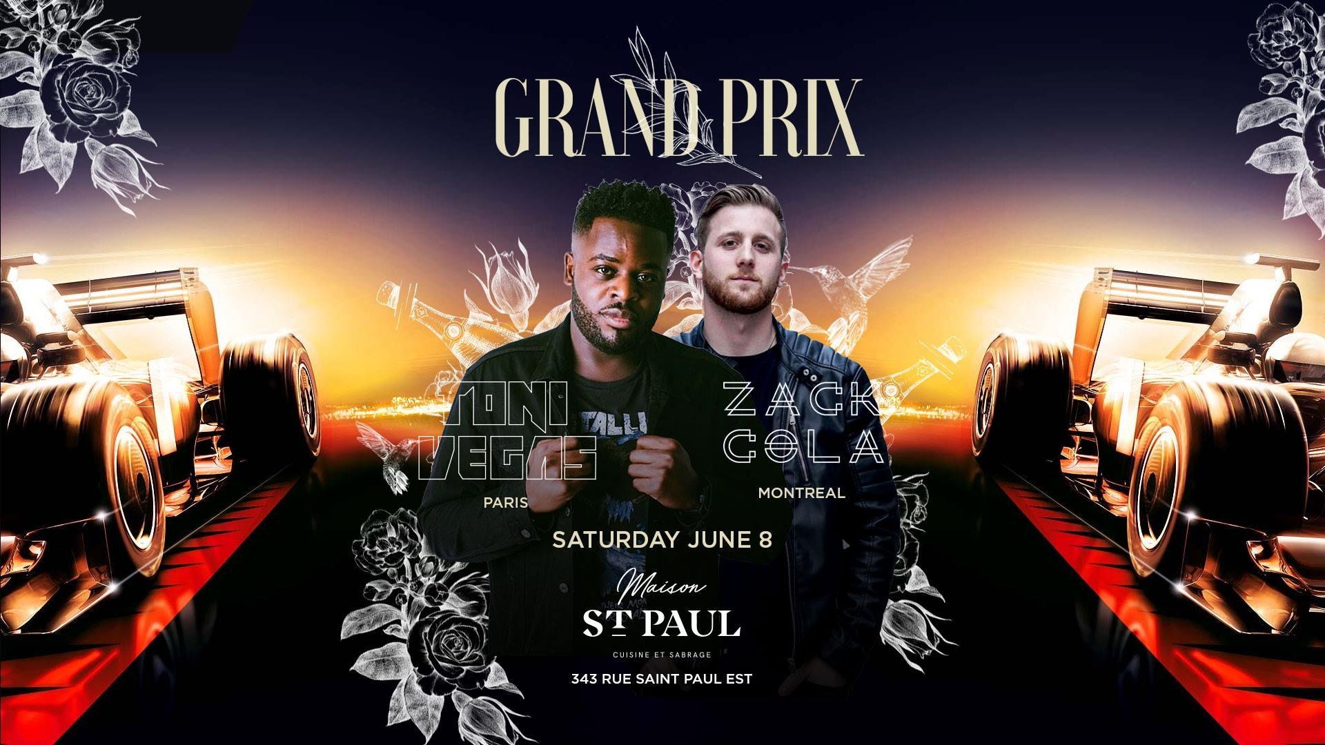 Grand Prix 2019 | Saturday June 8th Toni Vegas